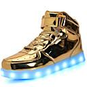 povoljno Dječje tenisice-Dječaci / Djevojčice Lakirana koža Sneakers Svjetleće tenisice LED Srebro / Plava / Pink Proljeće / Guma