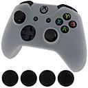 Недорогие Аксессуары для Xbox 360-универсальный новый силиконовый чехол кожного контроллера&усилитель; крышки ручки ручки для Xbox One (белый)