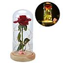 זול חפצים דקורטיביים-חפצים דקורטיביים, עץ זכוכית מודרני עכשווי ל קישוט הבית מתנות 1pc