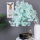 זול פרחים מלאכותיים-פרחים מלאכותיים 1 ענף קלאסי מסורתי חתונה סאקורה פרחים נצחיים פרחים לרצפה