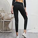זול ביגוד כושר, ריצה ויוגה-בגדי ריקוד נשים מכנסי יוגה יוגה למעלה צבע אחיד כושר אמון תחתיות לבוש אקטיבי רך מיקרו-אלסטי רזה