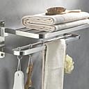 זול מדפי מקלחת-צדף לחדר האמבטיה יצירתי / רב שימושי עכשווי פלדת אל חלד / ברזל 1pc מותקן על הקיר