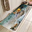 זול מחצלות ושטיחים-1pc מודרני משטחים לאמבט אלמוגים יצירתי / מצחיק 5mm חדר אמבטיה חמוד / ללא החלקה / קל לנקות