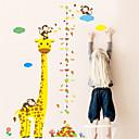 זול מדבקות קיר-מדבקות קיר דקורטיביות - מדבקות קיר חיות חדר שינה / חדר ילדים