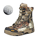 זול הנעלה ואביזרים-בגדי ריקוד גברים נעלי טיולי הרים נעלי טיולים עמיד למים עמיד נושם מוגן מגשם צעידה סתיו חורף חום + אפור / נגד החלקה