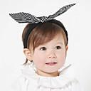 זול מחזיק למברשת האסלה-מידה אחת לבן / שחור אביזרי שיער פפיון אחיד / פסים פעיל / בסיסי / מתוק בנות פעוטות / עולל / תינוק