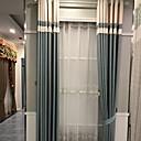 זול וילונות חלון-עכשווי פרטיות שני פנאלים וִילוֹן משרד   Curtains