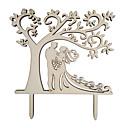 זול ריהוט למחנאות-קישוטים לעוגה נושא חוף / נושאי גן / נושא פרפר עץ / במבוק חתונה / אירוע מיוחד עם מוצק 1 pcs OPP