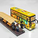 זול מכוניות צעצוע-מכוניות צעצוע משאית אוטובוס קלאסי מוסיקה ואור קלסי יוניסקס צעצועים מתנות