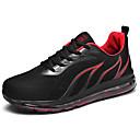 זול נעלי ספורט לגברים-בגדי ריקוד גברים נעלי נוחות PU קיץ נעלי אתלטיקה הליכה אפור / שחור אדום / שחור / כחול