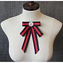 זול אביזרים לגברים-עניבת פפיון - קולור בלוק מסיבה / פעיל / סגנון חמוד בגדי ריקוד גברים / בגדי ריקוד נשים
