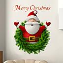 זול ביטחון אישי-סנטה קלאוס מדבקות קיר - מילים&אמפר ציטוטים קיר מדבקות תווים חדר לימוד / משרד / חדר אוכל / מטבח
