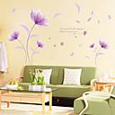 זול מדבקות קיר-מדבקות קיר דקורטיביות - מדבקות קיר מטוס פרחוני / בוטני חדר שינה / פנימי