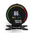 Недорогие Рации-HUD автомобиль голова дисплей двигатели цифровые проекторы прибор измеритель скорости p15