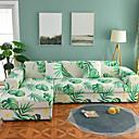 זול כיסויים-ספה לכסות גבוהה למתוח עלים ירוקים קומבינטורית רכה פוליאסטר slipcovers