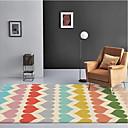 זול דיסק נייד USB-שטח שטיחים יום יומי / מודרני polyster, מלבן איכות מעולה שָׁטִיחַ
