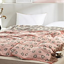 זול שמיכות וכיסויי מיטה-נוֹחַ - 1 יחידה שמיכה קיץ & אביב כותנה דפוס