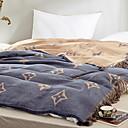 זול שמיכות וכיסויי מיטה-נוֹחַ - 1 יחידה שמיכה קיץ & אביב פוליאסטר דפוס