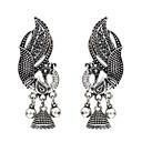 זול עגילים אופנתיים-בגדי ריקוד נשים עגילי טיפה עגילים תכשיטים זהב / כסף עבור יומי 1pc