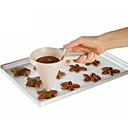 זול מדי לחץ אוויר לצמיגים-1pc פלסטי Creative מטבח גאדג'ט עשה זאת בעצמך שימוש יומיומי עוגיה Cupcake כלי מדידה כלי Bakeware