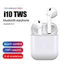 hesapli TWS Gerçek Kablosuz Kulaklıklar-i10 tws bluetooth kulaklık kablosuz dokunmatik kontrol kulakiçi 3d surround ses ve amp; tüm smartphone için şarj çantası