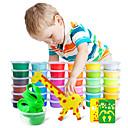 זול אביזרים למטבח-פלסטלינה דוזר משאית ממטרה מלגזה ציפור תאורת במה צבעונית עציץ עבודת יד אינטראקציה בין הורים לילד ינשוף Hinata Syouyou / ילדים גן כל צעצועים מתנות 12 pcs