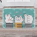 זול מחצלות ושטיחים-1pc מודרני משטחים לאמבט PVC חיה חדר אמבטיה ללא החלקה