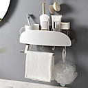 זול קופסאות טלוויזיה-מייבשי שיער יצירתי / רב שימושי עכשווי PVC 1pc מותקן על הקיר