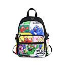 hesapli Çanta Setleri-Büyük Kapasite Oxford Bezi PVC Fermuar Okul Çantası Karakter Okul Beyaz / Siyah / Sarı / Sonbahar Kış