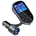 Недорогие Bluetooth гарнитуры для авто-Spedcrd Bc37 Bluetooth FM-передатчик автомобильный mp3-плеер USB зарядное устройство