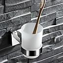 זול מחזיק מברשות שיניים-מחזיק למברשת שיניים יצירתי עכשווי פלדת על חלד 1pc - חדר אמבטיה מותקן על הקיר
