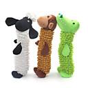 זול ג'קטים לאופנועים-צעצועים חורקים צעצוע לניקוי שיניים כלבים 1pc ידידותי לחיות מחמד חיות קטיפה