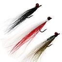 זול חלקים לאופנועים וג'יפונים-4pcs # 4 עופרת בראש clouser עמוק 9 צבעי טריים baitfish ים מלוחים חיקוי זולה seatrout זבובים