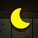 hesapli Kapalı Gece Lambası-1pc Duvar Tipi Gece Aydınlatması Serin Beyaz / Sarı Yaratıcı 220-240 V