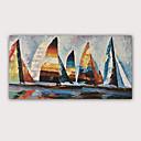 halpa Abstraktit maalaukset-3d öljymaalaus käsinmaalattu - abstrakti muotokuva abstrakti moderni valssatut kangas laadukkaita turnauksia