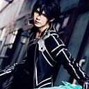 povoljno Anime kostimi-Inspirirana SAO Swords Art Online Kirito Anime Cosplay nošnje Japanski Cosplay Suits Jednobojni Dugih rukava Hlače / Rukavice / Plašt Za Muškarci / Žene