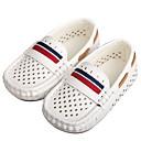 זול נעלי ספורט לילדים-בנים / בנות צעדים ראשונים עור נאפה Leather נעליים ללא שרוכים ילדים קטנים (4-7) הליכה לבן / שחור אביב / סתיו / פסים / גומי תרמופלסטי TPR