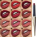 זול שפתונים-evpct רטרו יפהפה מחודדת שפתון מט לאורך זמן עמיד למים