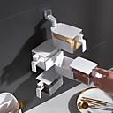 זול וילונות חלון-לבן ארבעה שכבת מטבח קיר רכוב תיבת תבלין חינם ניקוב סוכר מלח לתיבול msg לתיבול