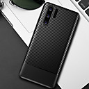 billige Trusser-karbonfiber myk tpu telefon veske til huawei p30 pro p30 lite p30 p20 pro p20 lite p20 deksler deksel silikon