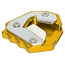 זול ג'קטים לאופנועים-אופנוע cnc לבעוט בצד לעמוד enlarger צלחת סיומת דוושות עבור bmw s1000xr 15-19