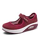 hesapli Kadın Atletik Ayakkabıları-Kadın's Spor Ayakkabısı Kişiye Özel Yuvarlak Uçlu Örümcek Ağı Minimalizm İlkbahar yaz Siyah / Beyaz / Kırmızı Şarap / Slogan