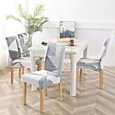 זול כיסויים-כיסוי לכיסא גיאומטרי / קלאסי / עכשווי הדפסה תגובתית פוליאסטר כיסויים