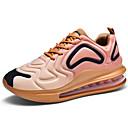 hesapli Erkek Atletik Ayakkabıları-Erkek Ayakkabı Elastik Kumaş İlkbahar yaz Sportif Atletik Ayakkabılar Koşu Dış mekan için Siyah / Siyah / Beyaz / Siyah / Kırmızı