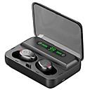 hesapli Bluetooth Araba Setleri/El-kullanılmadan-Z-yeuy f9-5 tws gerçek kablosuz kulakiçi bluetooth kulaklık w / dijital ekran 3000 mah güç bankası