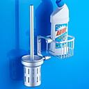 hesapli Tuvalet Fırçası Tutacakları-Tuvalet Fırçası Tutacağı Yeni Dizayn / Havalı Çağdaş Aluminyum 1pc Duvara Monte Edilmiş