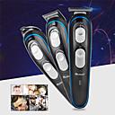 Недорогие Удаление волос-Europlug 3 в 1 профессиональные аккумуляторные машинки для стрижки волос машинка для стрижки волос бритва для стрижки волос парикмахерская машинка для стрижки
