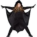 hesapli Dans kostümleri-Yarasalar Kostüm Kadın's Peri Masalı Teması Cadılar Bayramı Performans Tema Partisi Kostümler Kadın's Dans kostümleri Polyester Malzeme Kombini