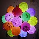 זול ימי הולדת-12 יחידות led אורות בלון הבזק מנורות זוהרות פנס בר יום הולדת קישוט מסיבת חתונת יום הולדת בלון פנס