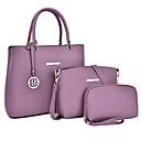 povoljno Komplet torbi-Žene S resicama PU Bag Setovi Jedna barva 3 kom Crn / purpurna boja / Plava